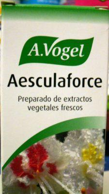 Aesculaforce de Vogel un remedio eficaz para trastornos circulatorios