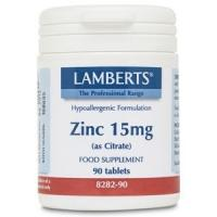 Propiedades del zinc como citrato