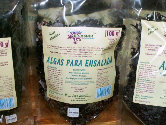 Propiedades de las algas Fucus