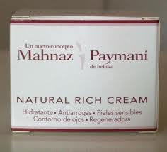 Crema Natural Rich de Mahnaz Paymani