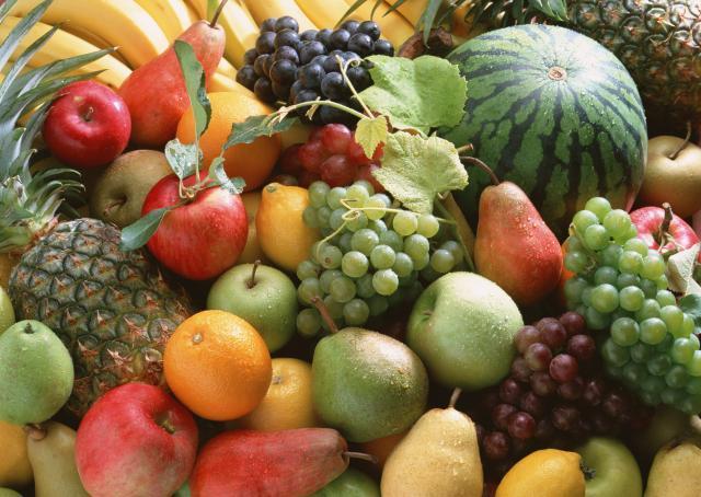 Frutas y verduras contra el acné