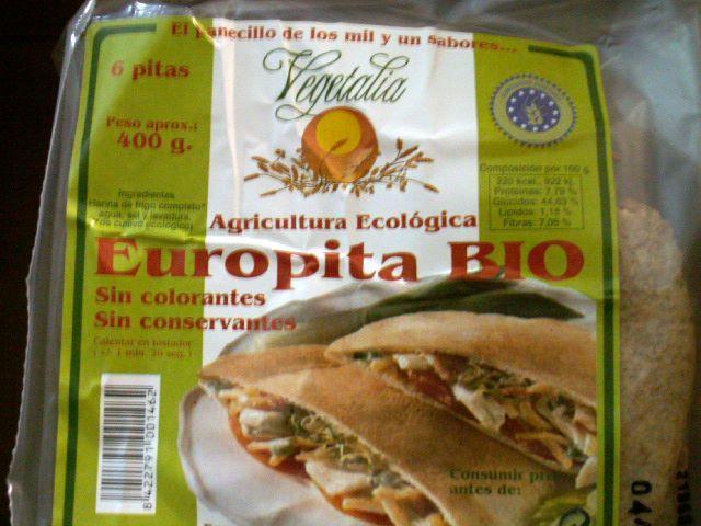 Tipos de harinas: Pan de pita