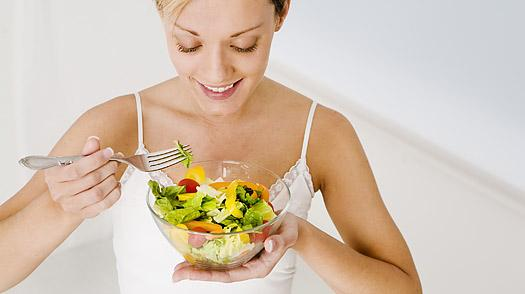 Dieta sana para combatir el acné
