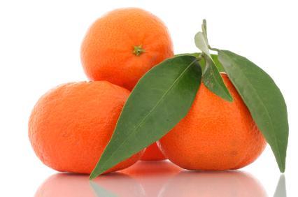 Cáscara de mandarina en la MTC