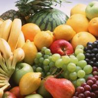 Desayuno saludable de frutas