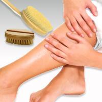 Cepillarse la piel en seco es una terapia natural